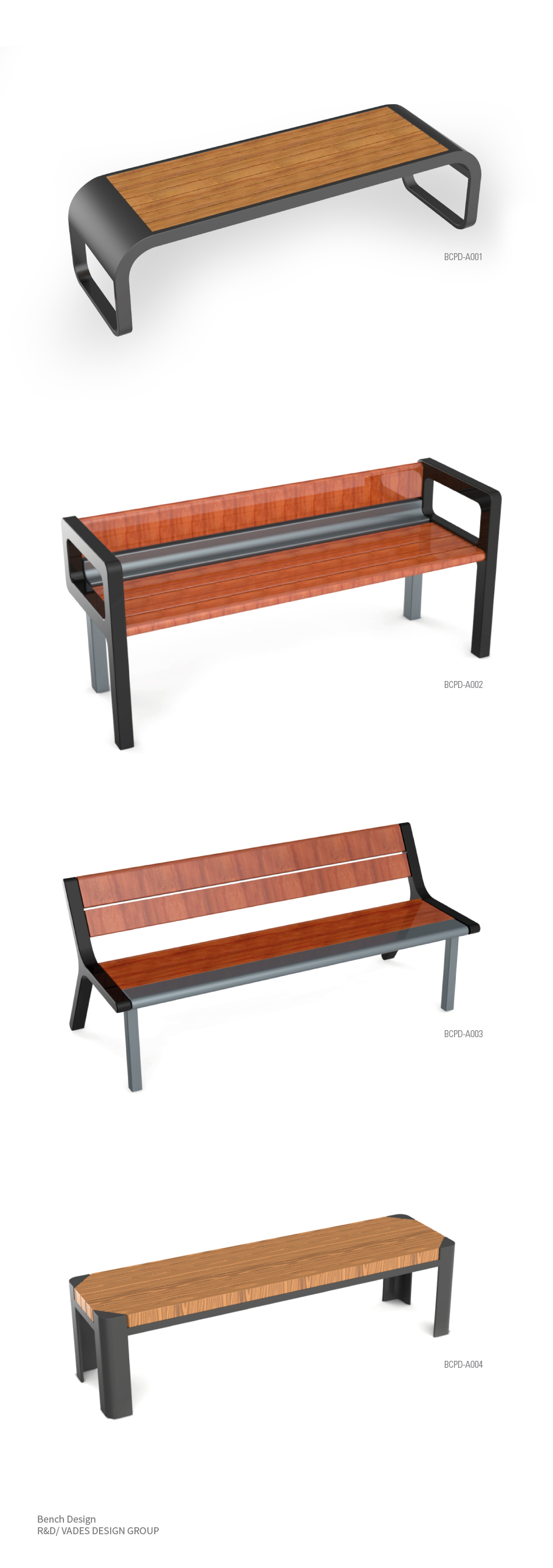Bench Design - R&D/VADES DESIGN GROUP
